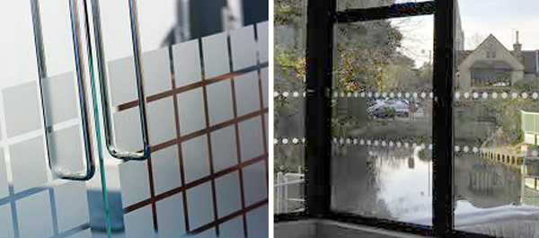 ... a cost effective and flexible alternative to traditional sand blasting or printing. These films allow freedom in the initial glass specification ... & Window Film Applications Glass manifestation is designed to help ...